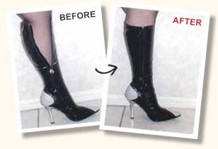boot alteration example