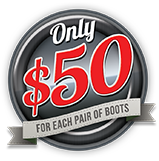 boot alteration special price